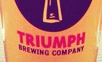 Triumph Brewing Company Events