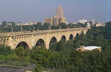Albertus L. Meyers Bridge in Allentown, PA Lehigh Valley